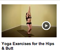 Yoga Exercises for the Hips and Butt with Kiki Flynn Natural Health and Yoga Expert